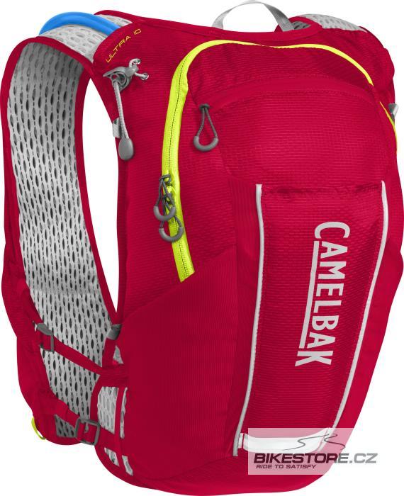CAMELBAK Ultra 10 Vest vesta s pitným vakem crimson red/lime punch 8l