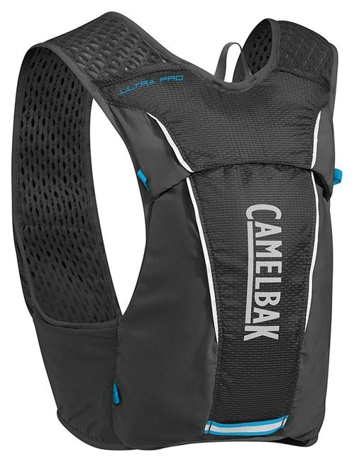CAMELBAK Ultra Pro Vest Black/Atomic Blue vesta s lahvemi M