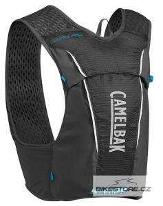 CAMELBAK Ultra Pro Vest Black/Atomic Blue vesta s lahvemi