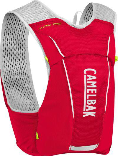 CAMELBAK Ultra Pro Vest Crimson Red/Lime Punch vesta s lahvemi L 3,5l