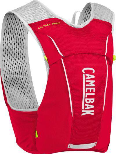 CAMELBAK Ultra Pro Vest Crimson Red/Lime Punch vesta s lahvemi M 3,5l