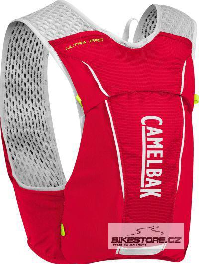 CAMELBAK Ultra Pro Vest Crimson Red/Lime Punch vesta s lahvemi S 3,5l