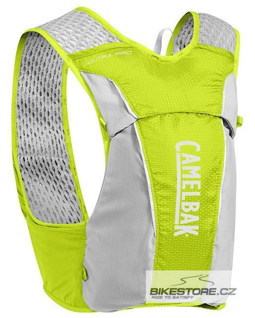 CAMELBAK Ultra Pro Vest lime punch/silver vesta s lahvemi S