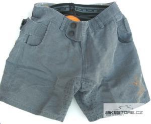 CANNONDALE Baggy Shadow dámské kalhoty - volné krátké (bez vložky) Velikost S, šedá barva