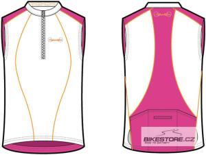 CANNONDALE Classic dámský cyklistický dres - bez rukávu