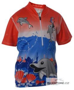 CANNONDALE Dolphin juniorský dres - krátký rukáv
