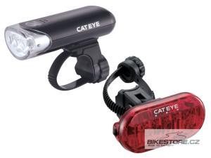 CATEYE HL-EL135 a TL-LD135 sada předního a zadního světla
