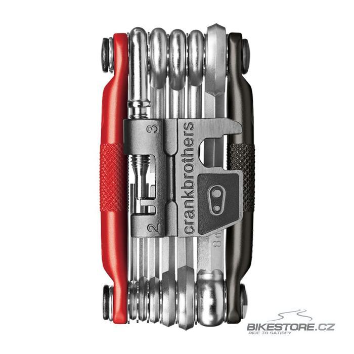CRANKBROTHERS Multi-17 black/red kapesní nářadí (multiklíč)
