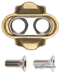 CRANKBROTHERS Standard Release Gold 15/6° Cleats kufry (pár)