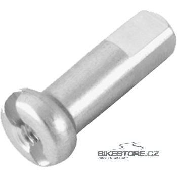 DT SWISS Alu Standard Silver nipl Průměr 1,8 mm, délka 12 mm, stříbrná barva