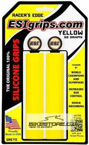 ESIGRIPS MTB Racers Edge gripy (pár) Žlutá barva
