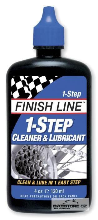 FINISH LINE 1-Step čistící a mazací prostředek Objem 120 ml, kapátko