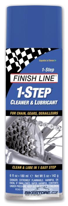 FINISH LINE 1-Step Spray čistící a mazací prostředek Objem 180 ml, sprej