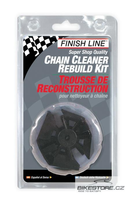 FINISH LINE Chain Cleaner Rebuild Kit sada náhradních kartáčů
