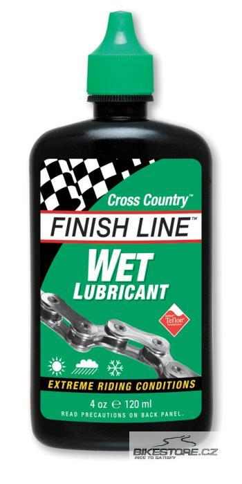 FINISH LINE Cross Country Wet mazací prostředek Objem 120 ml, kapátko