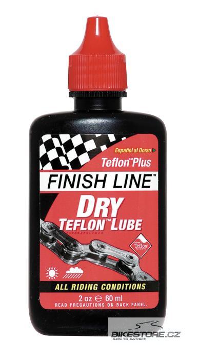 FINISH LINE Teflon Plus Dry mazací prostředek Objem 60 ml, kapátko