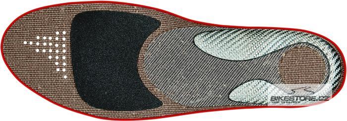 FIZIK 3D Flex tvarovatelné cyklistické vložky Velikost L (42,5 - 43,5)