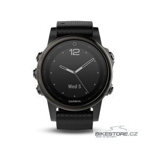 GARMIN fenix5S Sapphire Grey Optic, Black band