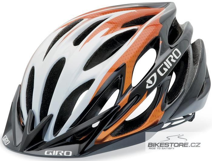 GIRO Athlon metallic orange/black helma L
