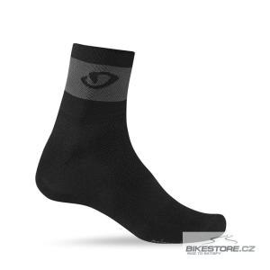GIRO Comp Racer black/dark shadow ponožky