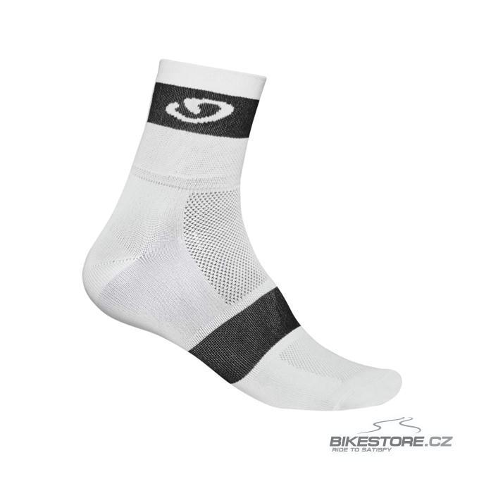 GIRO Comp Racer white/black ponožky S