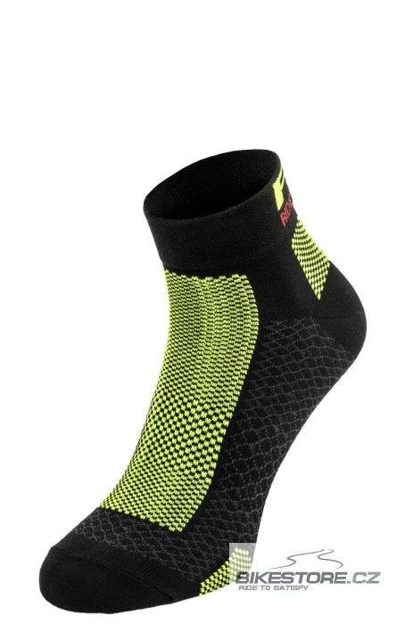 R2 Easy ponožky (ATS10B/S) velikost S /35-38/, černá/zelená