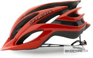 GIRO Fathom glowing red helma M