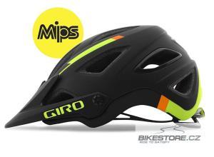 GIRO Montaro MIPS mat black/lime/flame helma M