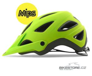 GIRO Montaro MIPS mat lime/mountain division helma