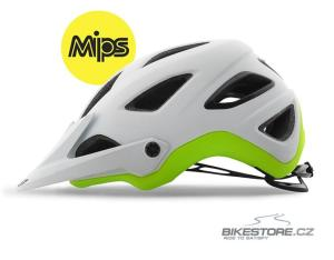 GIRO Montaro MIPS mat white lime helma