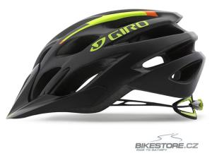 GIRO Phase mat black/lime/flame helma