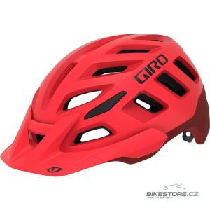 GIRO Radix Mat Bright Red/Dark Red helma