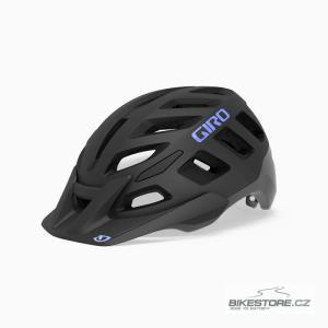 GIRO Radix W Mat Black/Electric Purple helma