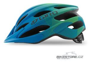 GIRO Raze mat blue/lime juniorská helma