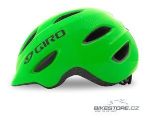 GIRO Scamp Green/Lime Lines dětská helma