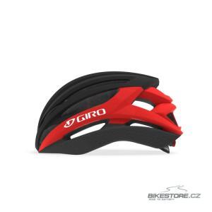 GIRO Syntax mat black/bright red helma