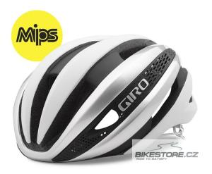 GIRO Synthe MIPS white/silver helma L