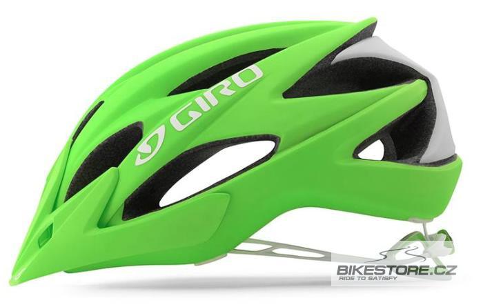GIRO Xar helma Velikost M (55–59 cm), zelená barva (mat bright green)