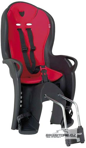 HAMAX KISS dětská sedačka, černá/červená