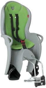 HAMAX KISS dětská sedačka, šedá/zelená
