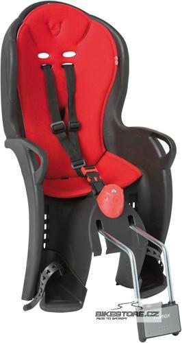 HAMAX SLEEPY dětská sedačka, černá/červená