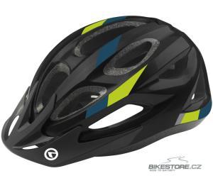 KELLYS Jester Black - Green dětská helma