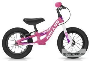 KELLYS Kite 12 Race Pink odrážedlo