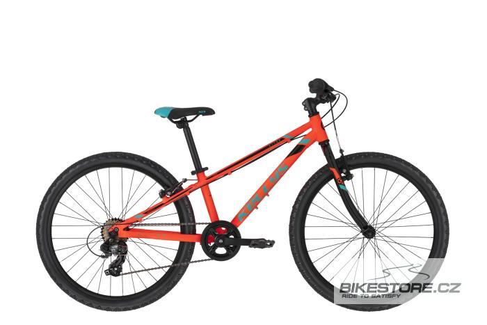 KELLYS Kiter 30 Neon Orange 24'' dětské kolo 2021