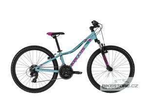 KELLYS Kiter 50 Turquoise 24'' dětské kolo 2021