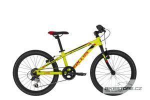 KELLYS Lumi 30 Neon Yellow 20'' dětské kolo 2021