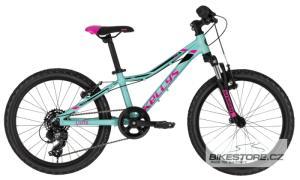 KELLYS Lumi 50 Pink Blue 20'' dětské kolo 2020