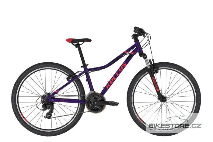 KELLYS Naga 70 Purple dětské kolo 2021