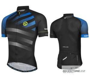 KELLYS Rival Blue cyklistický dres - krátký rukáv