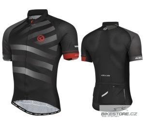 KELLYS Rival Grey cyklistický dres - krátký rukáv